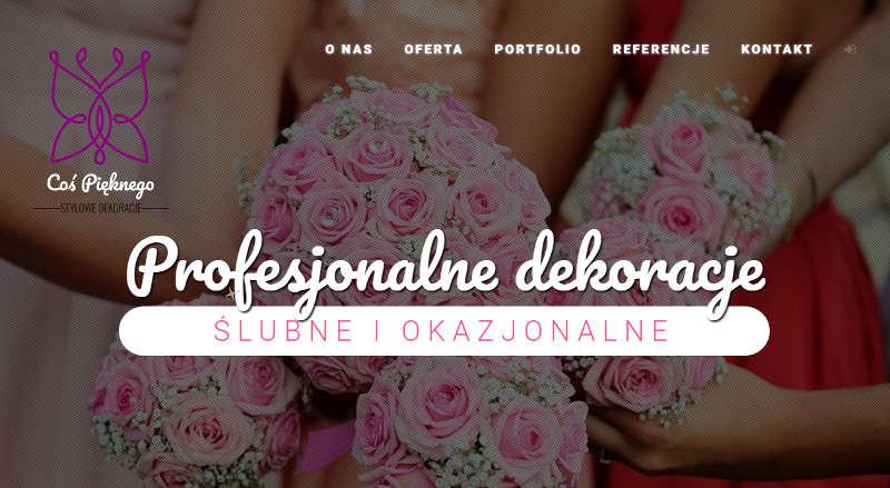 Dekoracje ślubne i okazjonalne, Dąbrowa Górnicza, Śląsk
