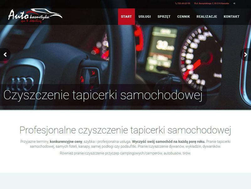 Czysta Tapicerka - Auto Kosmetyka, Rzeszów