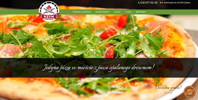 Karczma Rzym - pizzeria, kuchnia włoska - Dębica