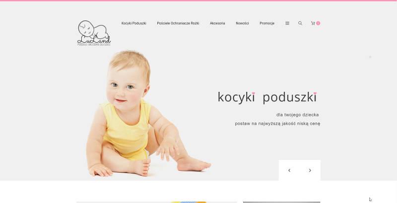 Luland.pl - sklep internetowy z pościelą dziecięcą