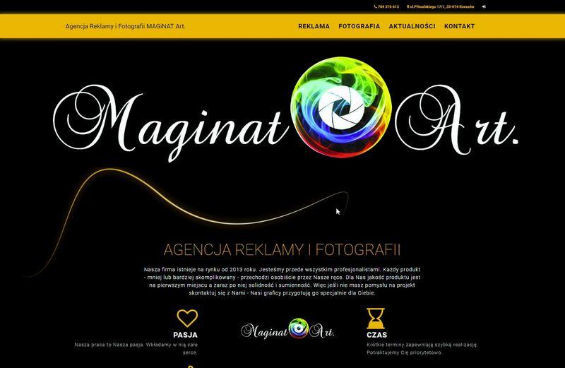 MAGiNAT Art - pracownia reklamy i fotografii Rzeszów